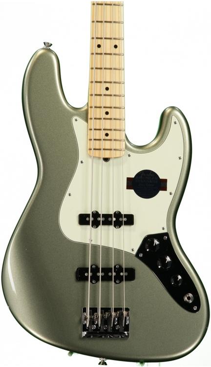 Fender American Standard Jazz Bass - Jade Pearl Metallic, Maple image 1