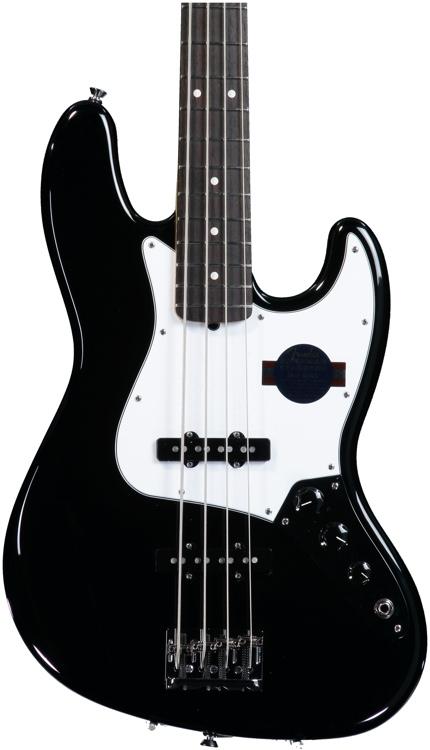 Fender American Standard Jazz Bass - Black, Rosewood Fingerboard image 1
