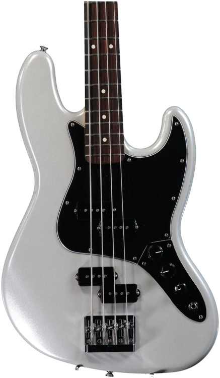 Fender Blacktop Jazz Bass - White Chrome Pearl image 1