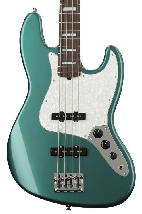 Fender Adam Clayton Jazz Bass - Sherwood Green Metallic image 1