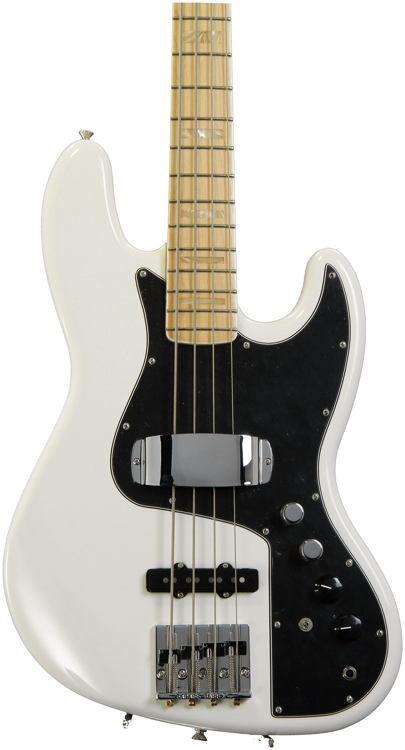 Fender Marcus Miller Jazz Bass - Olympic White image 1