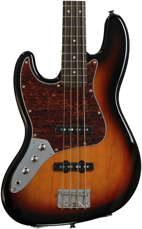 Squier Vintage Modified Jazz Bass - 3-Color Sunburst, Left Hand image 1