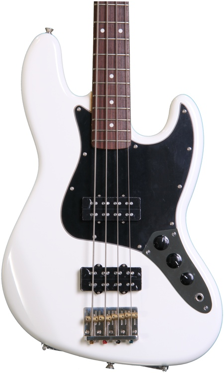Fender Modern Player Jazz Bass - Olympic White image 1