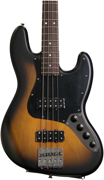 Fender Modern Player Jazz Bass - Satin 2-Color Sunburst image 1