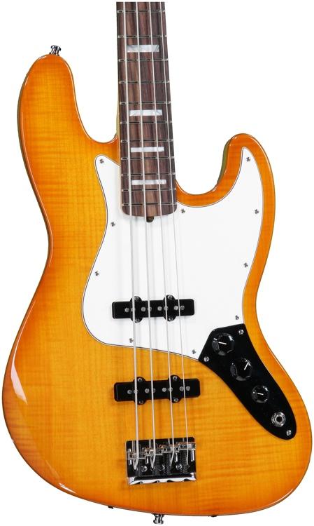 Fender Select Jazz Bass - Amber Burst image 1