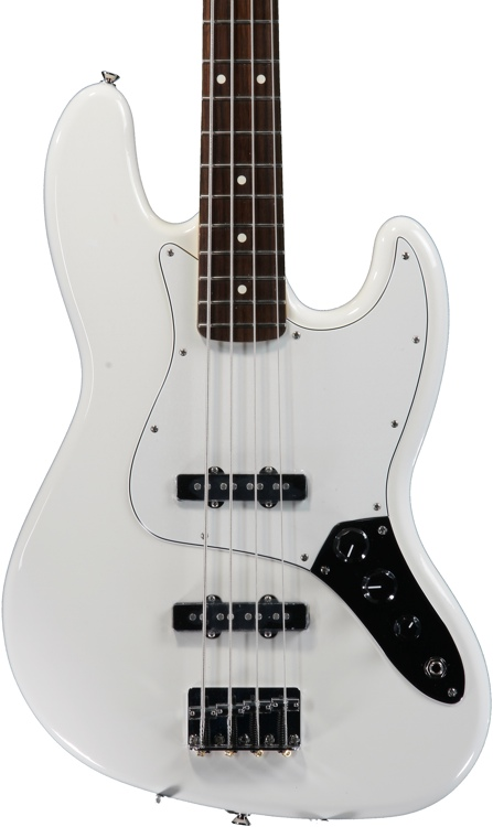Fender Standard Jazz Bass - Arctic White with Rosewood Fingerboard image 1