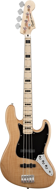 Squier Vintage Modified Jazz Bass - Natural image 1