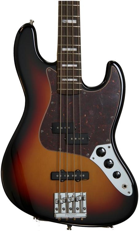 Fender Vintage Hot Rod \'70s Jazz Bass - 3-Color Sunburst image 1