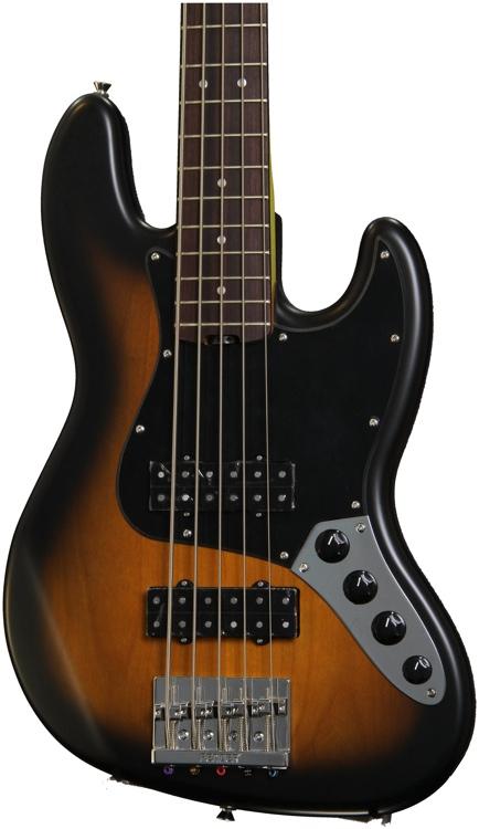 Fender Modern Player Jazz Bass V - Satin 2-Color Sunburst image 1