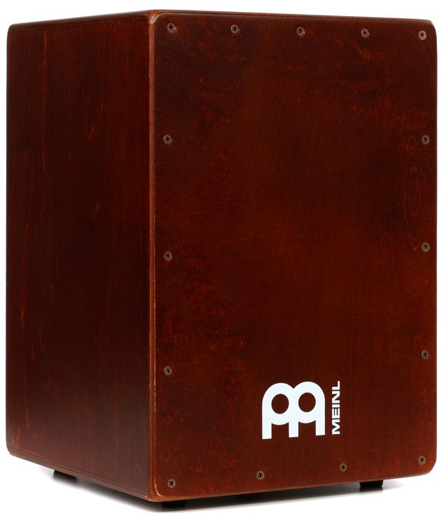 Baltic Birch Wood Compact Size JC50B Meinl Cajon Box Drum with Internal Snares MADE IN EUROPE 2-YEAR WARRANTY
