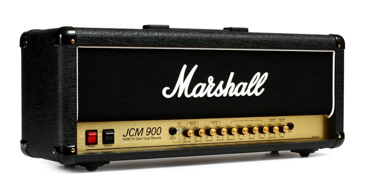 Marshall JCM900 4100 100-watt 2-channel Tube Head image 1