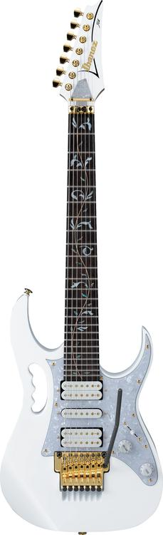 Ibanez JEM7V7 - Steve Vai Signature 7-String, White image 1