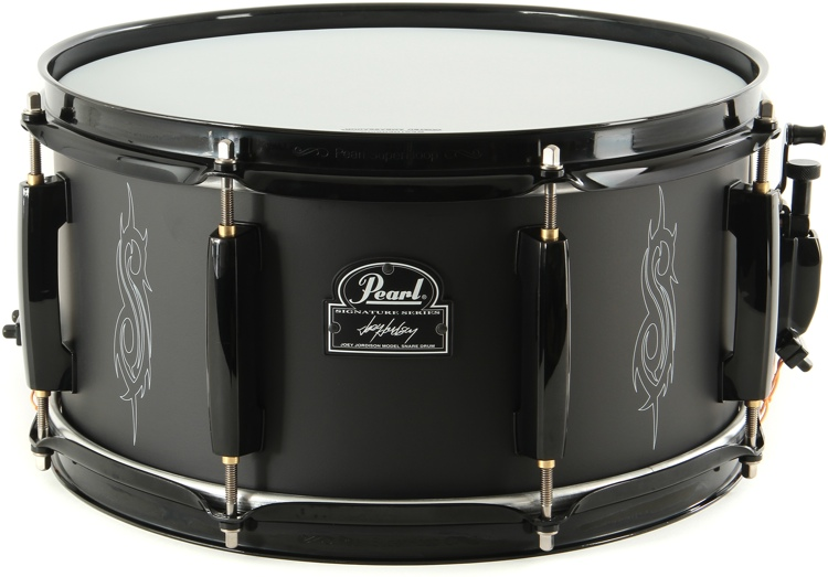 pearl joey jordison signature snare drum sweetwater. Black Bedroom Furniture Sets. Home Design Ideas