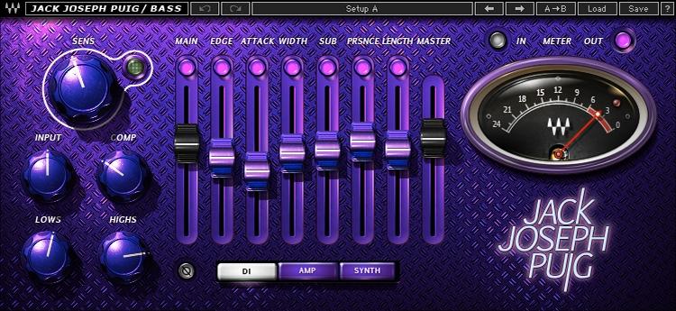 Waves JJP Bass Plug-in image 1