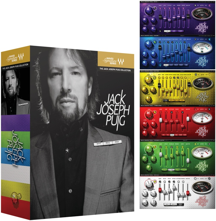 Waves Jack Joseph Puig Signature Series Plug-in Bundle for Academic Institutions - Native image 1