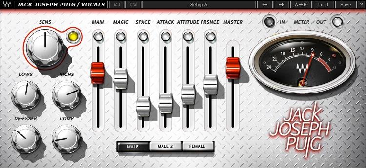 Waves JJP Vocals Plug-in image 1