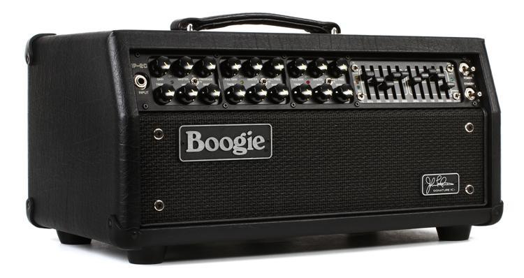 Mesa/Boogie JP-2C Mark IIC+ 60/100-watt Tube Head - Black with Black Face image 1