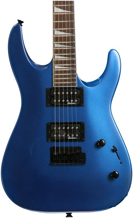 jackson js22 dinky metallic blue sweetwater rh sweetwater com Jackson JS22 7 Dinky DKA 7 String Electric Guitar Satin Black Jackson JS22 7 Review