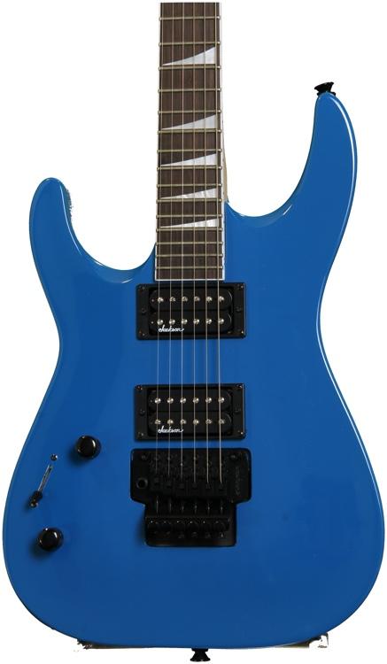 Jackson JS32L Dinky Left-handed - Bright Blue image 1