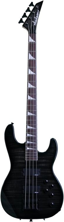 Jackson JS3 Concert Bass - Transparent Black image 1