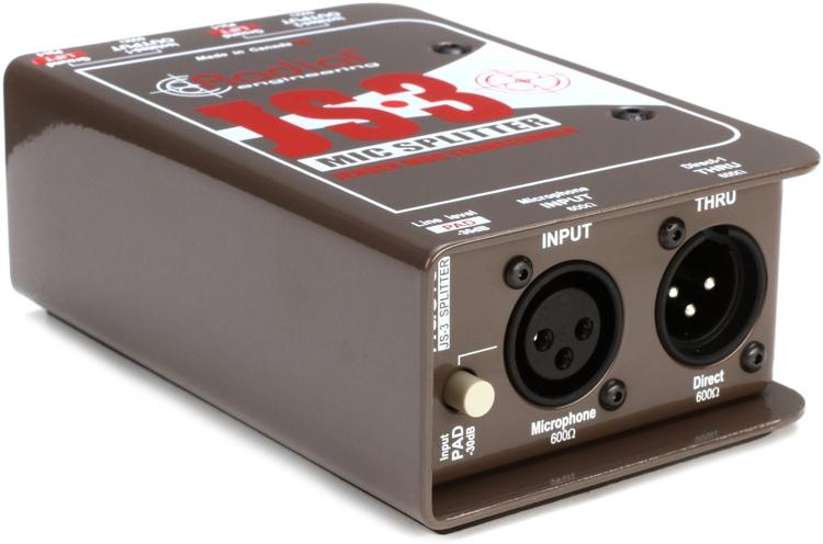 Radial JS3 Passive Microphone Splitter image 1