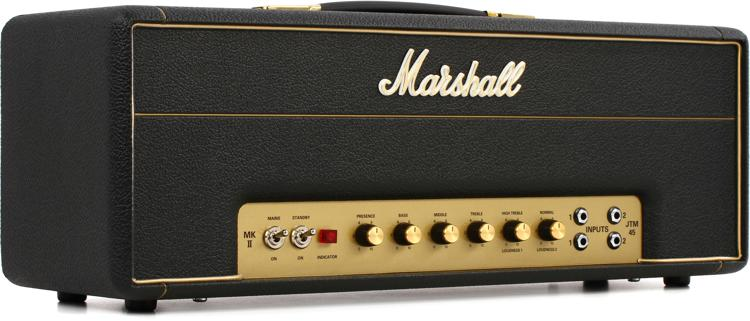 Marshall JTM45 2245 30-watt Plexi Tube Head image 1