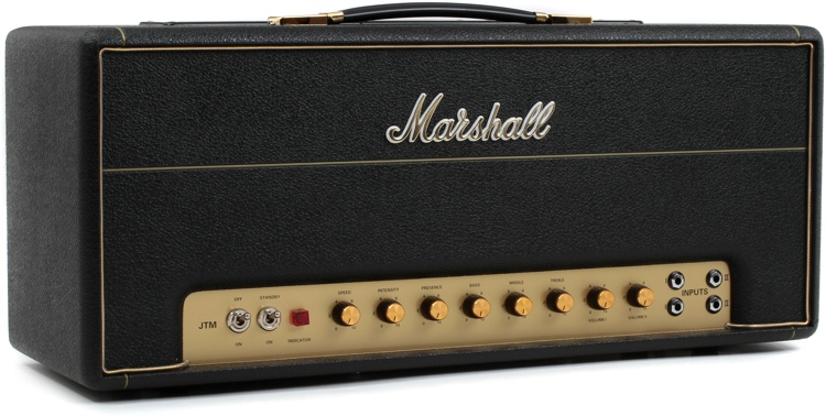Marshall JTM45THW 30-watt Handwired Plexi Tube Head image 1