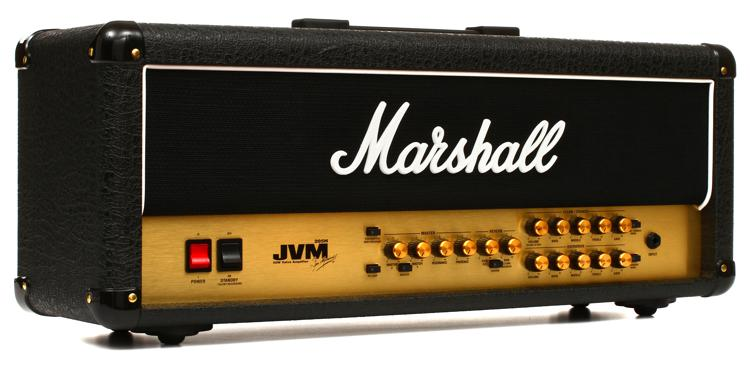 Marshall JVM205H 50W 2-Channel Tube Head image 1