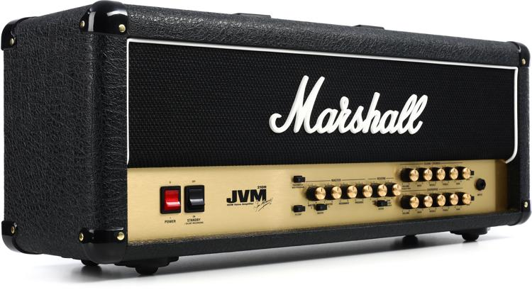 Marshall JVM210H 100W 2-Channel Tube Head image 1