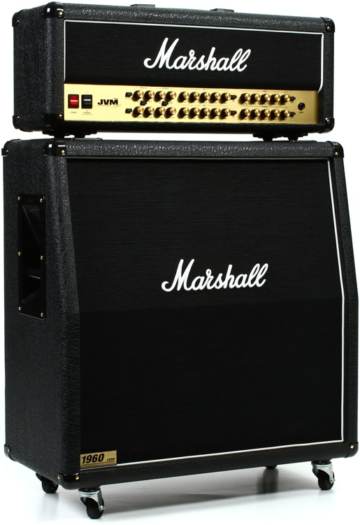 Marshall JVM410H/1960A Angled Half Stack Package image 1