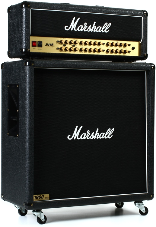 Marshall JVM410H/1960B Straight Half Stack Package image 1