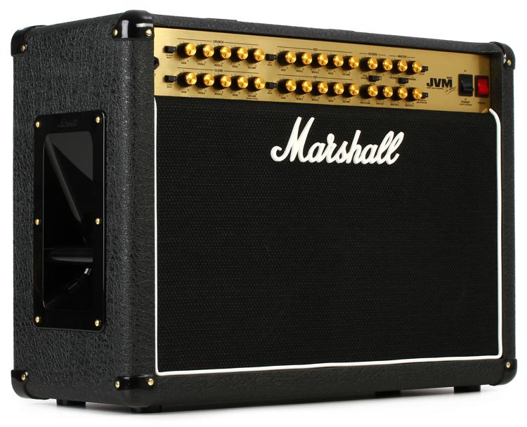 marshall jvm410c 100 watt 2x12 4 channel tube combo amp sweetwater. Black Bedroom Furniture Sets. Home Design Ideas