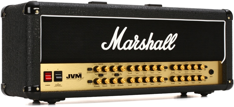 Marshall JVM410H 100-watt 4-channel Tube Head image 1