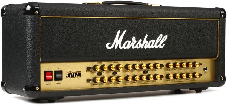 Marshall JVM410HJS Joe Satriani Edition 100-watt 4-channel Tube Head image 1