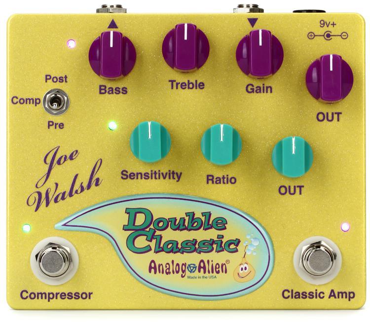 Analog Alien Joe Walsh Double Classic Compressor / Overdrive Pedal image 1
