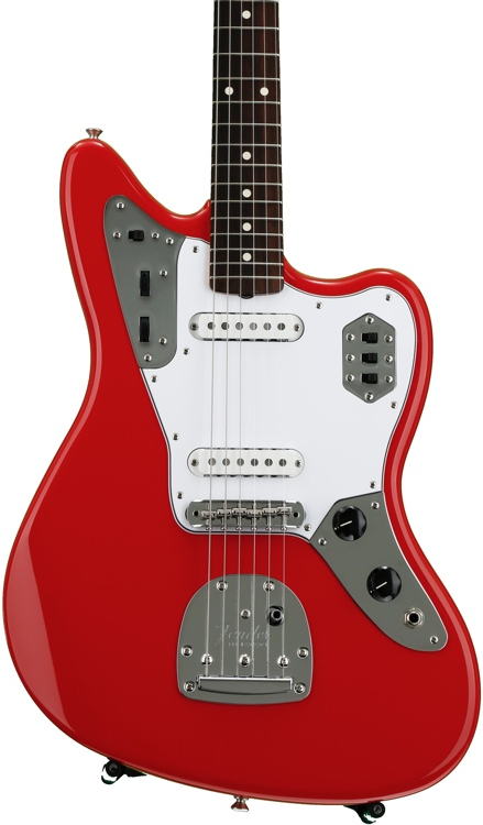 Fender \'60s Jaguar - Fiesta Red with Rosewood Fingerboard image 1