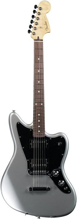 Fender Blacktop Jaguar HH - Silver image 1