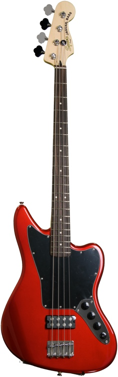 Squier Vintage Modified Jaguar Bass Special HB - Candy Apple Red image 1
