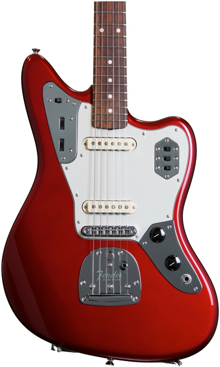 Fender Classic Player Jaguar Special - Candy Apple Red with Rosewood Fingerboard image 1