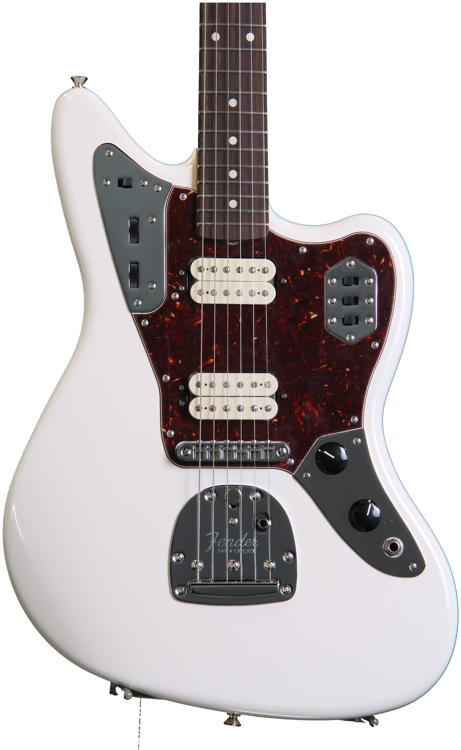 Fender Classic Player Jaguar Special HH - Olympic White with Rosewood Fingerboard image 1