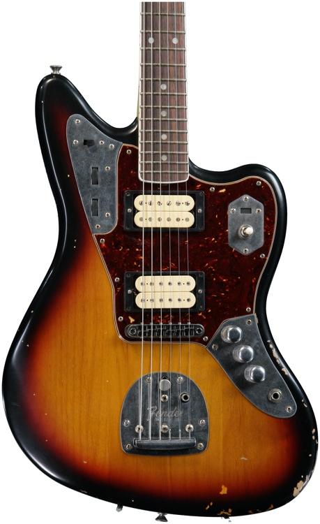 Fender Kurt Cobain Jaguar - 3-Tone Sunburst image 1