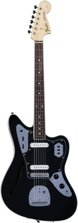Fender Special Edition Jaguar Thinline - Black image 1