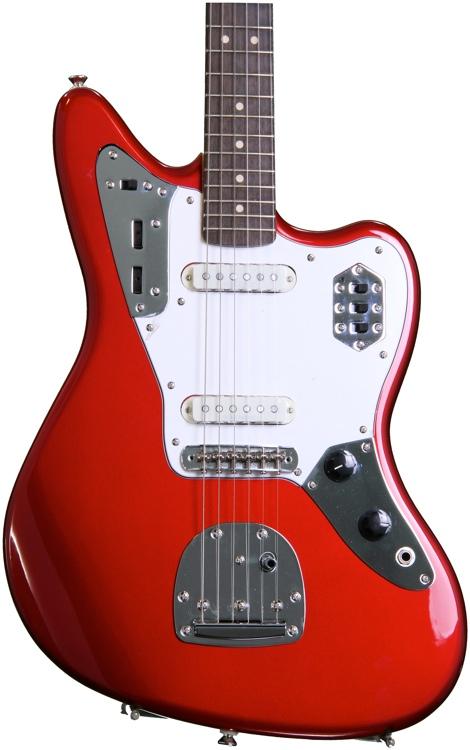 Squier Vintage Modified Jaguar - Candy Apple Red  image 1