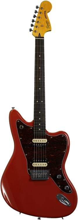 Squier Vintage Modified Jaguar HH - Fiesta Red image 1