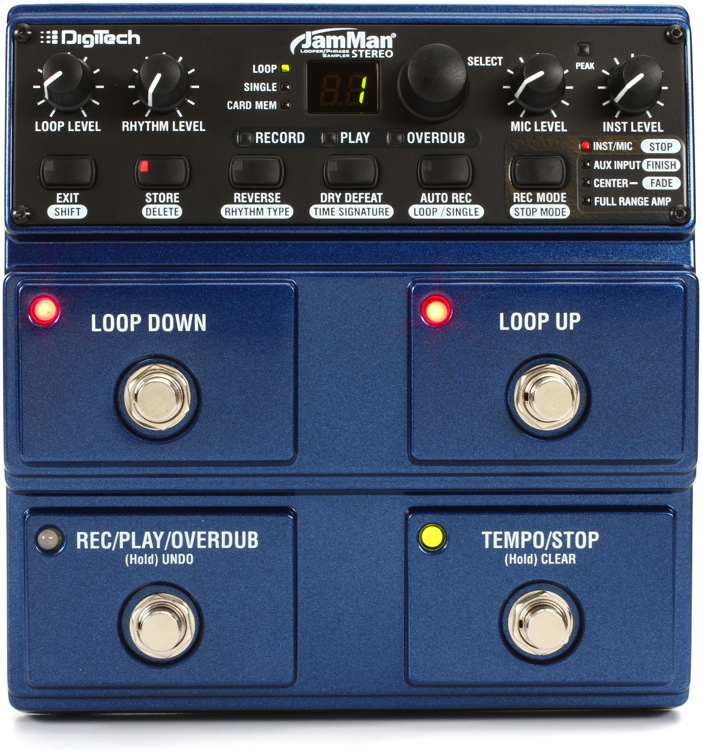DigiTech JamMan Stereo Phrase Sampler and Looper image 1