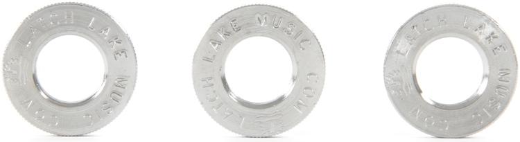 Latch Lake Jam Nuts - Chrome, 3-Pack image 1