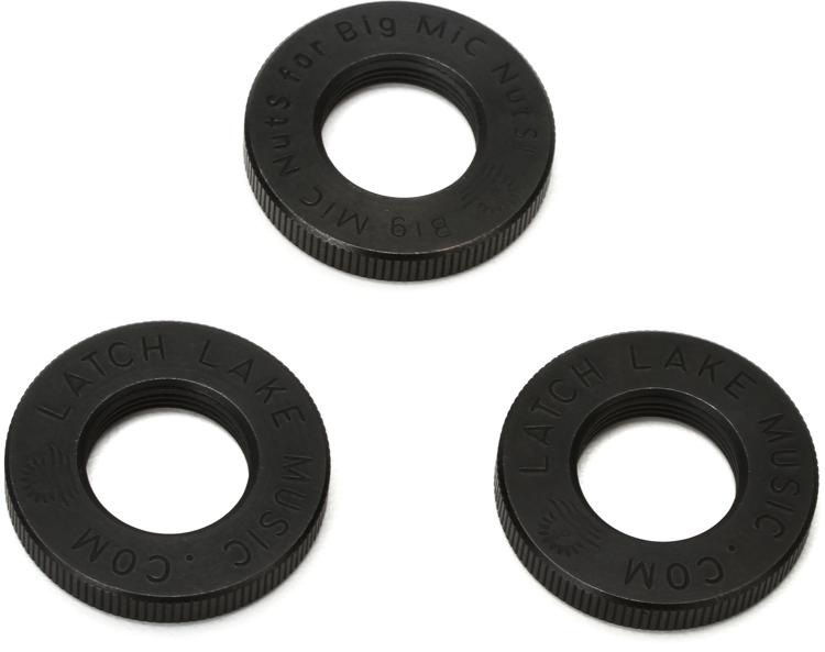 Latch Lake Jam Nuts - Black, 3-Pack image 1