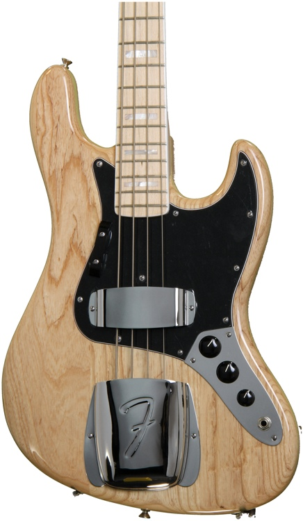 Fender American Vintage \'74 Jazz Bass - Natural image 1