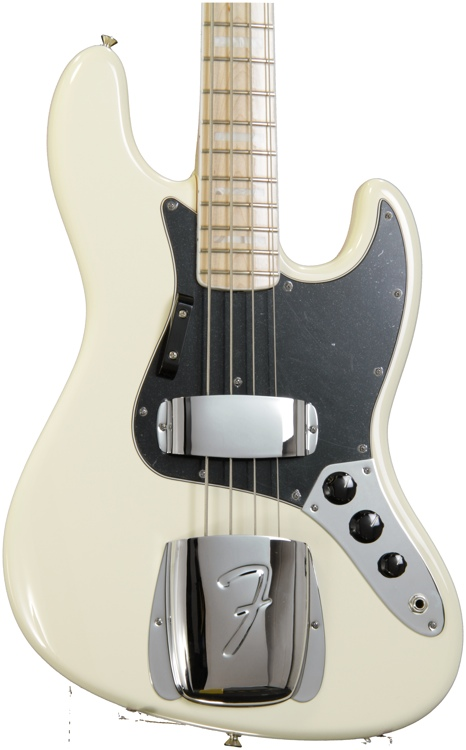 Fender American Vintage \'74 Jazz Bass - Olympic White image 1