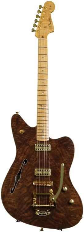 Fender Custom Shop Jazzmaster Masterbuilt by John Cruz - Claro Walnut Top , Koa Body image 1